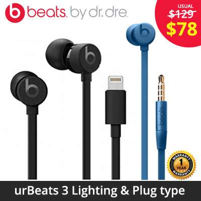 Brand New  Beats urBeats 3 in-ear for Apple iPhone   Lightning connection 441ad1bd24