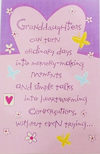 Qoo10 Greeting Card Happy Valentine S Day Granddaughter Greeting