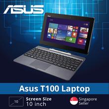 Refurbished Asus T100 Laptop / 10 Inch / Intel Atom / 2GB RAM / 64GB HDD / Win 8 / 1 month warranty