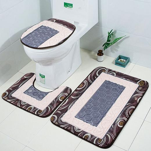 Qoo10 Honlaker Embossed Toilet Mat