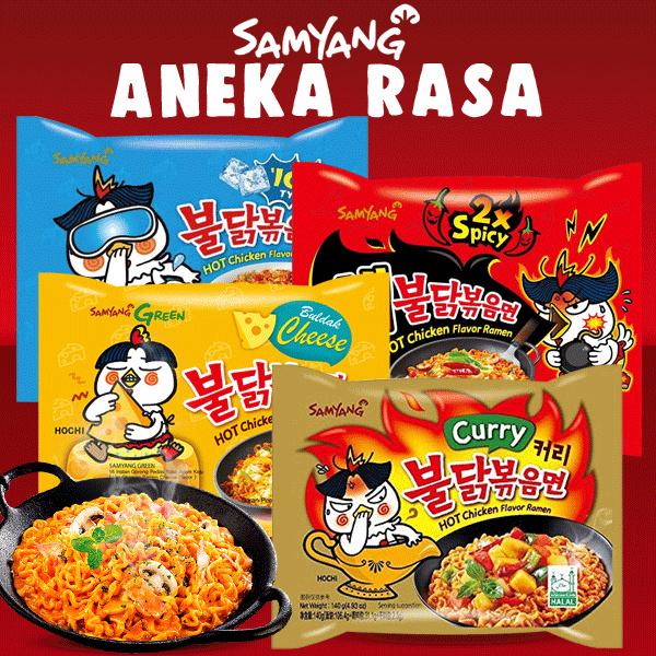 SAMYANG ANEKA RASA!! ASLI KOREAN FOOD Deals for only Rp25.000 instead of Rp25.000
