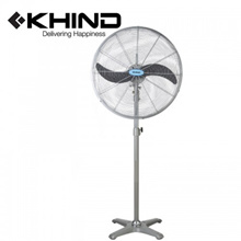 KHIND Industrial Stand Fan 24&quot  Auto Reverse Oscillation Big IndustrialL Fan (SF2401)