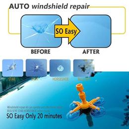 ★ Magic Windshield Repair Kit ★ Easy to Use! DIY Durable Car Glass Windscreen Crack Repair Tool