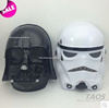 bb044bc6ba6 StarWars Role Star Wars Helm White Empire Clone Soldier cosplay Black  Knight Mask