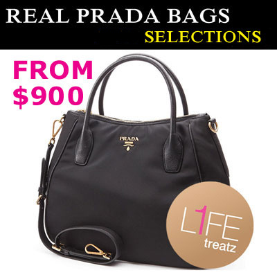 f458f177fba8 100% Authenticity Guaranteed ☆ New Shipment of Prada Bags ☆ From $950