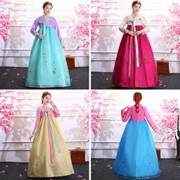 Costumes / Korean costumes traditional hanbok womens court dress Dae Jang Geha performances