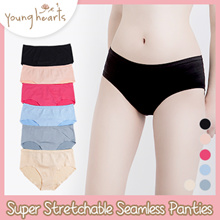 Young Hearts Super Stretchable Seamless Hipster Panties
