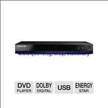 Samsung Progressive Scan Disk Player, Plays DVDs and Cds, ConnectShare Movie, Dolby Digital Decod...