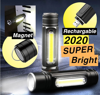 G700 X800  T6 LED 6000LM Military Tactical Zoomable Flashlight Torch Lamp US