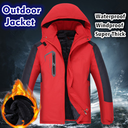 ★NEW★Winter Outdoor Down Jacket/Windproof and Waterproof/Waterproof Jacket/Outdoor Coat/Super Thick