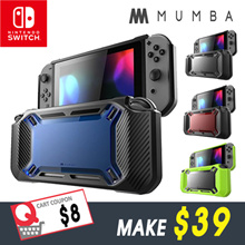 Mumba case for Nintendo Switch [Heavy Duty] Slim Rubberized [Snap on] Hard Case Cover for Ninten...