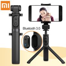 Xiaomi Foldable Tripod Monopod Selfie Stick Bluetooth With Wireless Button Shutter Selfie Stick