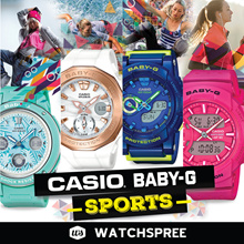 *CASIO GENUINE* BABY-G SPORTS SERIES! Tough and Water Resistant Watches for Ladies. Free Shipping!