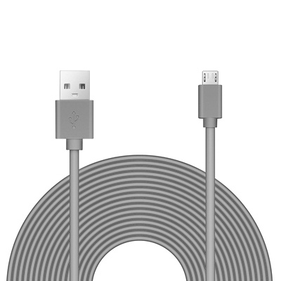 Benair 25ft Power Extension Cable for Wyze Cam, Blink, Yi, Oculus Go, and  More