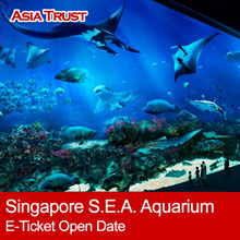S.E.A. Aquarium Singapore SEA Aquarium admission e tickets one day pass discount  海洋馆电子门票