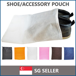 ▻SG◅ Non-Woven Shoe/Accessory Pouch· BUY 10 FOR FREE SHIPPING