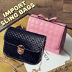 FLAT PRICE! IMPORT SLING BAGS - TAS FASHION WANITA