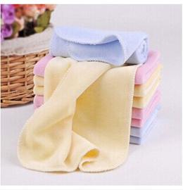 Velvet child small towel towel baby towel baby towel handkerchief baby face towel