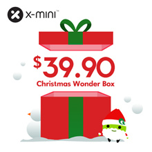 [12.12 Xmas Special] X-mini Wonder Box Special / While Stocks last / 400pcs only