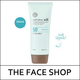 [THEFACESHOP] Natural Sun Eco No Shine Hydrating Sun Cream SPF50+ PA+++ 100ml [Big Size] / NEW 2018