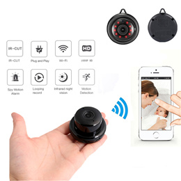 Home Security MINI WIFI 1080P IP Camera Wireless Small CCTV Infrared Night Vision Motion Detection