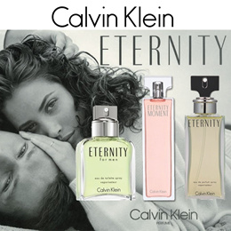 PERFUME CK ETERNITY MAN CALVIN KLEIN for EDT SPRAY 100 ML /ETERNITY WOMEN EDP SPRAY 100ML/ ETERNITY MOMENT 100ML FRAGRANCE