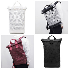【Free Shipping】Unisex 3D Mesh Rollup Casual Backpacks [SG Seller] [Fast Delivery]