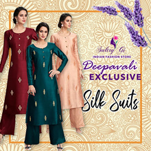 DEEPAVALI SPECIAL SILK SUITS  Free Shipping