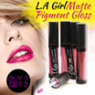 1 + 1 L.A Girl - Matte Pigment Gloss Plus LA GIRL USA Cosmetics