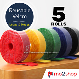 15MM Wide Velcro (Loops + Hoops) 150CM LENGTH Flexible to use. Cut to Suit You Need Velcro
