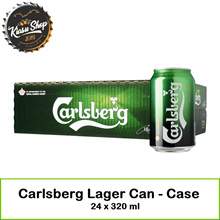 Carlsberg Lager Can - Case 24 x 320 ml