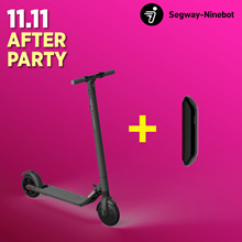 【Black Friday Sale】Segway ES2 Escooter + Battery ★The Only UL2272 / UL2271 Certified★
