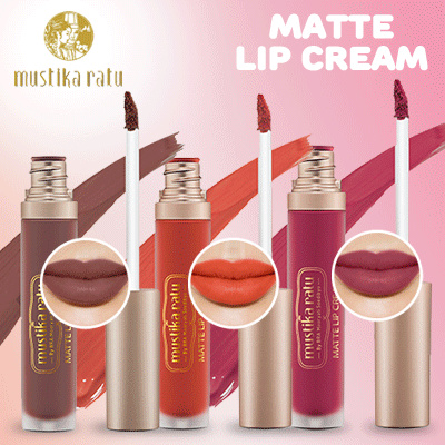 MUSTIKA RATU Matte Lip Cream Ultra Moisurizing Deals for only Rp85.000 instead of Rp85.000
