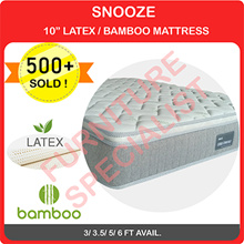 SNOOZE Latex Mattress (All Sizes Available)
