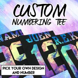 ★Custom Numbering Tees ★Kidswear/Adults Tee/ Numbering T-Shirts/ Kids T-Shirt/ T-Shirt/Top/ Unisex