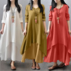 ★ Ready Stock ★ Women Elegant Fairy Princess Irregular Asymmetrical Maxi / Bohemian / Casual Dress
