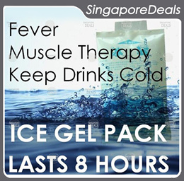 Reusable Ice Pack Cold Gel Pack Muscle Ache Fever Sports Cooler 6 pc Value Deal HL4