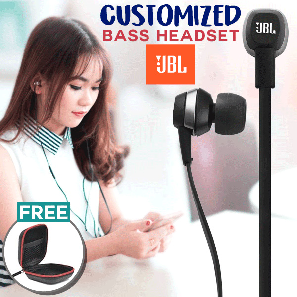 Original JBL Blackberry Customized Bass Headset Deals for only Rp185.000 instead of Rp185.000