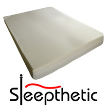 SLEEPTHETIC™ FITTED MEMORY FOAM TOPPER (5CM Thick) [FREE DELIVERY!]