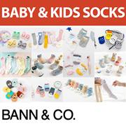 Baby / Kid Socks (0-4 yrs) - Ankle / Boat / Long / Cotton / Anti-Slip / Soft / Cute / Cartoon