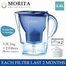 MORITA 3.5L Water Self-Purifying Pitcher / Jug w/ Filter Cartridge