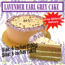 [BAKE A JOY]  ❤ Lavender Earl Grey cake ❤ Light lavender Floral with Earl grey! Free Delivery!