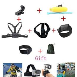 Gopro Hero Accessories Set Helmet Harness Chest Belt Head Mount Strap Go pro hero3 Hero4 2 3+ Sj4000