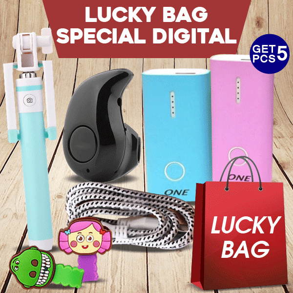 [LUCKY BAG] 99RIBU dapat 5 Barang DIGITAL! Deals for only Rp175.000 instead of Rp175.000