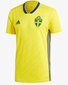 HOT - POPULAR Sweden 2018 World Cup Home Mens Football Jersey