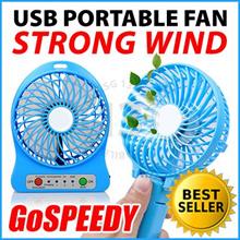USB Portable Fan ★ GoSPEEDY uFan Turbo Strong Wind Power Desktop Handheld Mini Nano Cartoon Fan