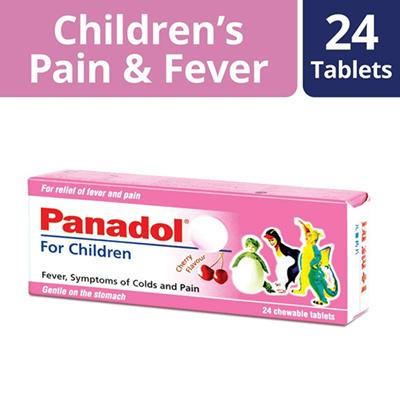 Panadol for Children's Pain & Fever 120mg