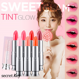 【Secret Key HQ Direct Operation】 💖SWEET GLAM TINT GLOW💓 Color-Awakening Lip Balm/lovely rosy color