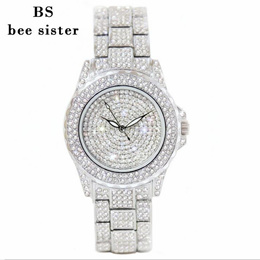 ★Cheapest Price★ 2018 BS Watch For women ladies with Bracelets Bangles Korean style BSP