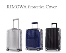 Protective Cover for RIMOWA / Plastic Transparent Cover / Clear Transparent Cover / Zipper Cover
